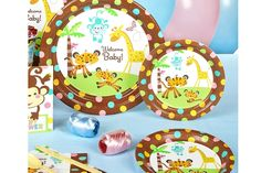 Fisher Price Baby Shower decorations and supplies. Baby Shower Parties, Baby Shower Themes, Baby Boy Shower, Baby Shower Decorations, Baby Showers, Baby Shower Supplies, Kids Party Supplies, Shower Set, Shower Ideas