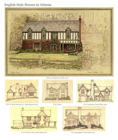 Atlanta Tudor Houses by ~Built4ever on deviantART