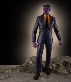 Purple Man custom action figure from the Marvel Legends series using DC Direct Red Hood as the base, created by Babcsancustoms. Purple Man, Ghetto Outfits, Lego Display, Marvel Villains, Marvel Legends Series, Custom Action Figures, Red Hood, Cool Stuff, Toys