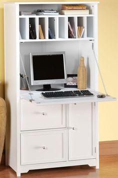 Hidden Office Desk Cabinet