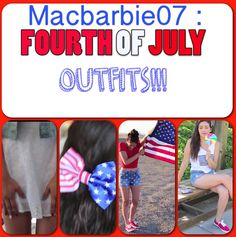 FOURTH OF JULY OUTFIT IDEAS!!!!!!