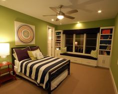 Bed Spread, Table, Lamp, Storage, Teen Boy Bedroom Design, Pictures, Remodel, Decor and Ideas - page 6