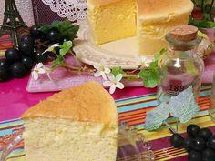 簡単♡しゅわしゅわ~♡スフレチーズケーキの画像