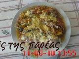 Μελιτζάνες βούκες #sintagespareas Greek Recipes, Food And Drink, Chicken, Meat, Vegetables, Veggies, Greek Food Recipes, Vegetable Recipes, Cubs