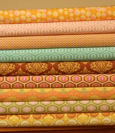 What a wonderful grouping of fabrics...for anything!