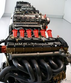 All I need now is stiff chassis and a gearbox. BMW M Power M Bmw, Bmw M1, Bmw Engines, Race Engines, Motor Engine, Car Engine, Carros Bmw, Bmw Museum, Bmw Motors