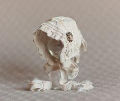 SAVANNAH- Linen. Off White. Neutral. Fabric Bonnet. Newborn. Baby Girl. Photogpraphy Prop. Vintage Style. via Etsy
