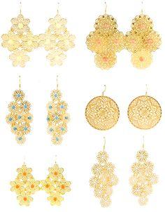 KEP filigree earrings!