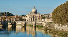 Sant Angelo's Bridge - Rome - by EveLivesey.deviantart.com