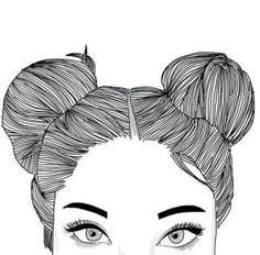 Tumblr Girl Drawing, Tumblr Sketches, Tumblr Drawings, Art Sketches, Hipster Drawings, Outline Drawings, Easy Drawings, Pencil Drawings, Pencil Art