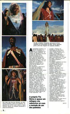 """""""Vale do Amanhecer - Tia Neiva previu o ouro em Serra Pelada"""" - reportagem na revista """"Manchete"""" em 1981 - página 3/4."""