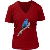 Indigo Bunting #LadyBird Hark #indigo #bunting #buntings #lady #ladies #bird #ladybird #tee #tshirt #shirt #teeshirt #tees #indigobuntings #indigobunting #bluebird #blue #birds #xs #s #m #l #xl #xxl #2xl #xxxl #3xl #xxxxl #4xl #women #woman #womens #girls #girly #artsy #artistic #cute #elegant #chic #nature #wildlife #art #custom #designer #artwork #painted #portrait #love #sweet #heart #inspirational #beauty #sacred #life #curiosity #hark #feathers #angel #wings #lovebirds #mothernature