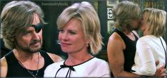Days of our lives Steve Johnson and Kayla Johnson Peter Reckell, Tv Couples, Days Of Our Lives, Acting, Hair Styles, Theatre, Soap, Life, Theater