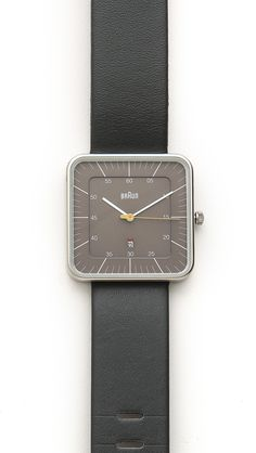 Braun - Square Square Watch, Stainless Steel Case, Gentleman, Quartz, Mens Fashion, Band, Watches, Classic, Stuff To Buy