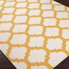 Ironwork Trellis Dhurrie Rug: 7 Colors