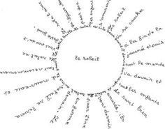 Les 67 meilleures images du tableau Calligramme sur