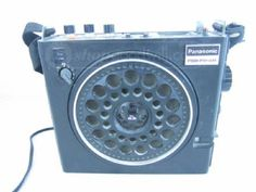 Panasonic PSB FM/AM 3-Band Radio Model RF-888