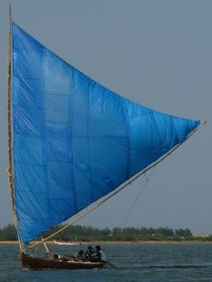Crab claw sail. My favourite type of sail.