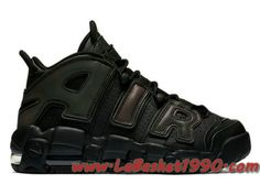 quality design ca24f 93ea8 Nike Air More Uptempo 922845-001 Chaussures de BasketBall Pas Cher Pour  Homme Noir Vert