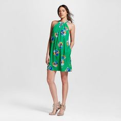 Women's Poppy Print Halter Dress - ISANI For Target $34.99