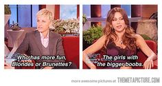 You speak the truth, Sofia Vergara…