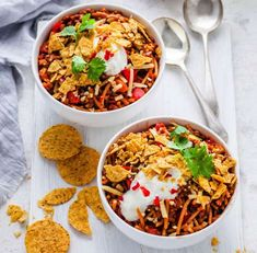 Cheesy Taco Pasta Healthy Mummy Recipes, Snack Recipes, Healthy Food, Grated Cheese, Cheddar Cheese, Tinned Tomatoes, Corn Chips, Taco Seasoning, Easy Meals