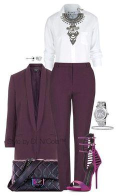 Элегантные образы с брюками 5
