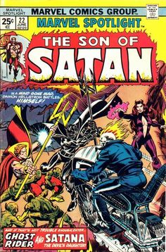The Son of Satan! The Devil's Daughter! Ghost Rider! HOW.CAN.THIS.GET.BETTER?!?!