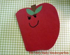 The Very Busy Kindergarten: Apples Week