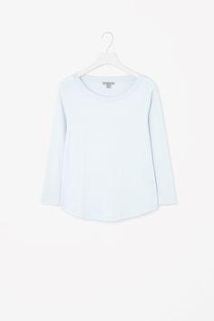 3/4-sleeve cotton t-shirt