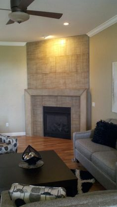 finished fireplace surround and mantel by vesta precast accents