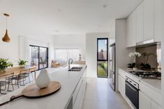 West | Flagship Terrace Homes | Studio Nine Architects West Home, Home Studio, Architects, Terrace, Homes, Kitchen, Table, Furniture, Home Decor