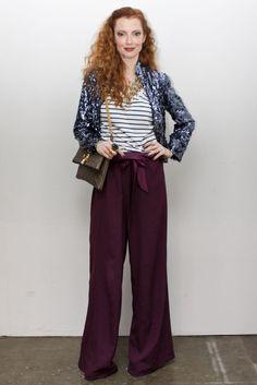 Julia Petit -Petiscos  não sei se coloco na pasta fashion ou beauté!!!! amo/sou esse look(a) do dia