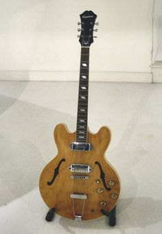 John Lennon Epiphone Casino Guitar Learn To Play Authentic Guitar For Any Style Of Music - Beginner Thru Professional at: http://www.ChordMelodyGuitarMusic.com