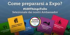 Come prepararsi a #Expo2015? L'abbiamo chiesto ai nostri Ambassador http://bit.ly/100ThingsToDo  #100thingsToDo