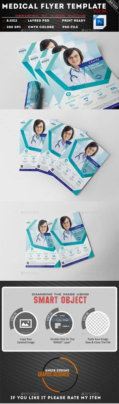 Medical Flyer Template PSD. Download here…