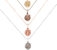 Unique Perfumes and Fragrance: Lisa Hoffman's Fragrance Jewelry collection - earrings, bracelets and pendants with hidden scent.