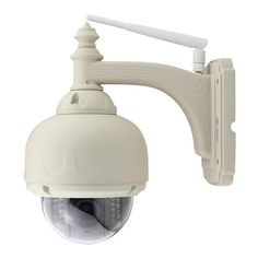 Wanscam HW0038 WiFi IP Camera Built-in IR-cut 1.0MP ONVIF IP66 Waterproof Motion Detection Night Vision Security Camera -White