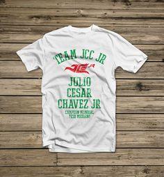 Julio Cesar Chavez Jr. - Official Online Store - Team JC Chavez Jr Men's T-Shirt, $27.00 (http://www.jcchavezjrstore.com/team-jc-chavez-jr-mens-t-shirt/)