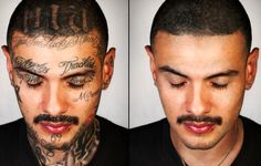 Skin Deep: A Photography Project 'Removing' Ex-Gang Members' Face Tattoos