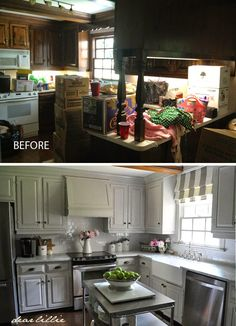 Dear Lillie: Our Kitchen Makeover (Before and Afters and a Full Source List)