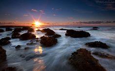 Papel de Parede - Movimento das Águas - Nova Zelândia