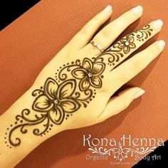 Visit the post for more. Palm Henna Designs, Beginner Henna Designs, Mehndi Designs For Fingers, Henna Designs Easy, Beautiful Henna Designs, Henna Tattoo Designs, Simple Henna Flower, Simple Henna Tattoo, Henna Tattoo Hand