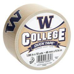 UW Duct tape. Go Huskies!