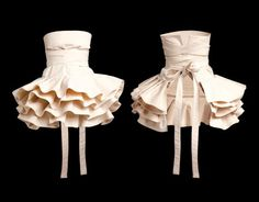 just an apron... but almost wedding dress too  definitely want one!