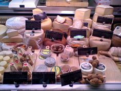 The cheese counter at Fallon & Byrne Dublin Travel, Deli, Favorite Recipes, Treats, Cheese, Counter, Foods, Spaces, Products