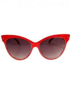 Cat Eye Retro Sunglasses- I need these for Marty! Red Cat Eye Sunglasses, Ray Ban Sunglasses Sale, Cat Eye Glasses, Sunglasses Outlet, Sunglasses Online, Pin Up, Gypsy Warrior, Cat Eyes, Sunglasses Accessories