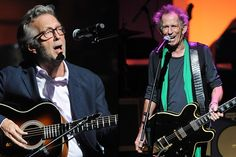 Clapton and Richards, yesterday, at The Appolo with Buddy Guy and More to celebrate Hubert Sumlin.