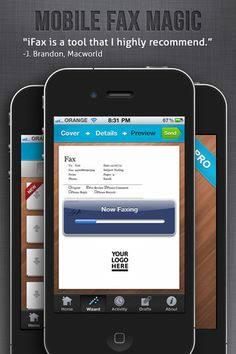 iFax #iPhone #App for sending and receiving Faxes