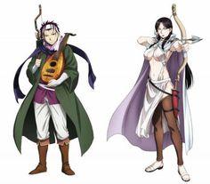 The Heroic Legend of Arslan (Arslan Senki) TV Anime cast: Kenn as Gieves, Maaya Sakamoto as Falangies